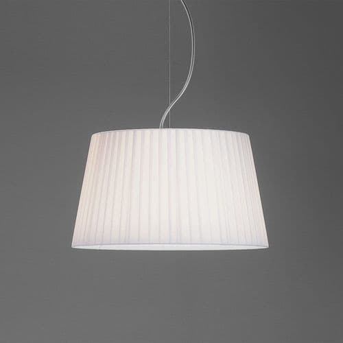 Astro 5002009 Tapered Round 400 Pleated White Shade